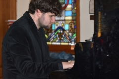 Callum Watson at Barwon Heads Church