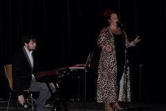 Callum Watson with Shandelle Cooke