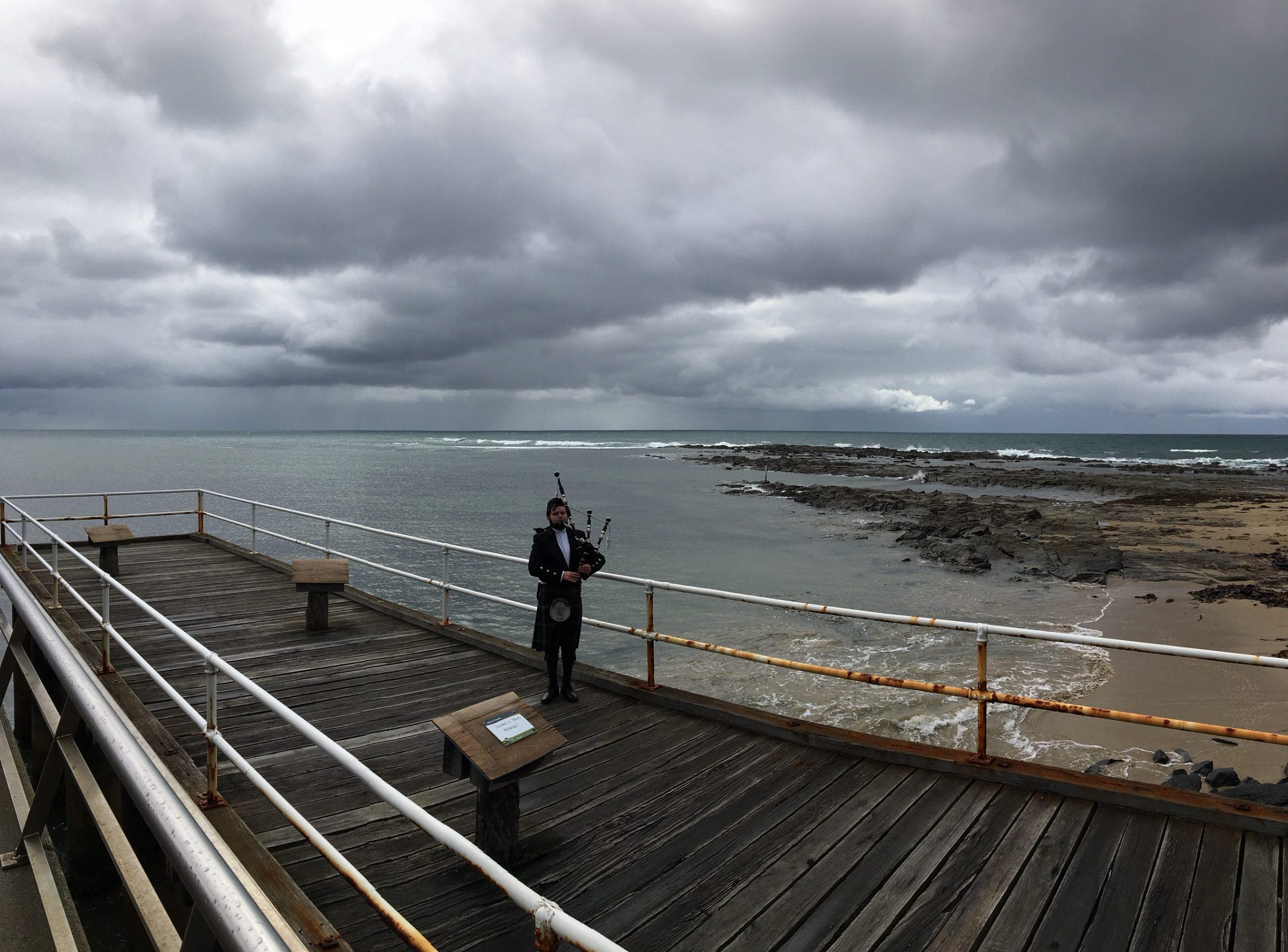 Callum Watson at Lorne Pier